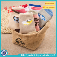 White thick white with different patterns children socks