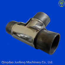 Custom stainless steel pipe fitting, pipe fitting names and parts
