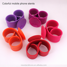 2015 best mobile phone stand silicone phone holder novelty multiple mobile phone holder