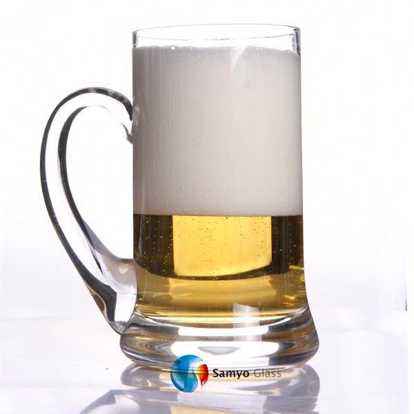 Samyo Handmade Glssware fabricante promocional duff beer cup