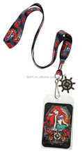 The Little Mermaid Ariel Tattoo/The Simpsons TV Show/Toy Story To Infinity and Beyond Pin Lanyard ID Card Holder BUZZ Charm