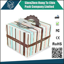 For gift Birthday Wedding Packaging food packaging box for cake and pie