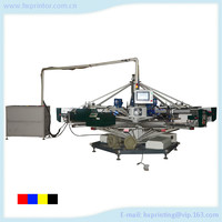 Economical and High efficiency full automatic Multi-Color plane vacuum silk screen printing machine for Paper and Plastic sheet