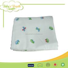 MS192 bamboo cotton fiber minky baby blanket dot, knitted baby blanket, baby minky blanket