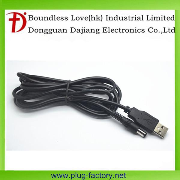 Dc câble à 2.0 USB adaptateur câble mâle à mâle