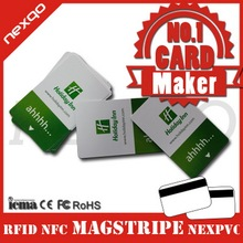 Professional supplier provides plastic pvc rfid magnetic stripe hotel door lock key cards,nfc hotel key cards