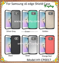 For Samsung Galaxy S6 edge 2 in 1 Multi-Function Hybrid Combo Shatterproof Aegis Armor Shield Case Cover