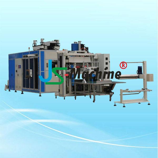 máquina de termoformado de presión automático de vasos de plástico NSPF-68