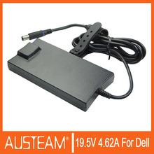slim laptop adapter for dell power supply 90W 19.5v 4.62a 7.4*5.0mm slim laptop ac power charger
