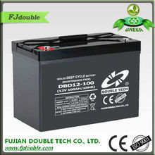 2014 new professional lead acid battery true deep cycle batteries for Solar inverter UPS