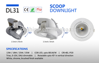 Supplier in Shenzhen AL6063 aluminum heatsink 6 inch AC100-240V18W led downlight wiring diagram
