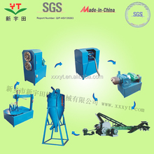 scrap tire pieces recycling plant for raw bitumen/tire recycling line for rubber powder.