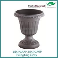 KD2922P-KD2924P plastic flower pots and urns