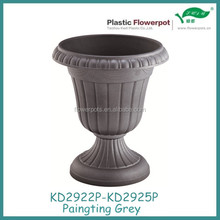 KD2922P-KD2924P plastic flower pots and urns