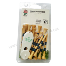 New style!! clear plastic golf packs for wooden golf tees