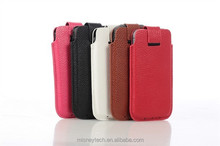 Simple style slim universal mobile phone pouch