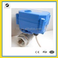 24VAC/DC electric proportional flow control valve for water control