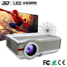 LED WIFI Outdoor Projector 4200 ANSI Lumens,CE FC RoHS Certification