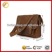 High quality men leather sling bags messenger bag for men