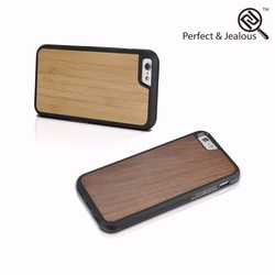 Low price Natural bamboo case for iphone 6 plus case