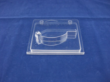 Plastic packaging box for cell phone accessories