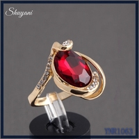ODM OEM thailand luxury diamond fine jewelry designs antique platinum rings with red stones for girls