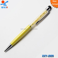 long barrel crystal stylus pen