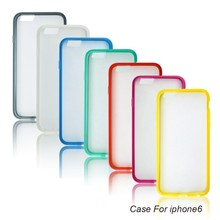 Ultra thin skin back cover for iPhone 6 various colors phone case for iphone