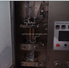 Soy Bean Milk Automatic Liquid Packaging Machine With Two Filling Heads