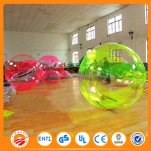 water play toy floating water walking ball,Roll inside water ball