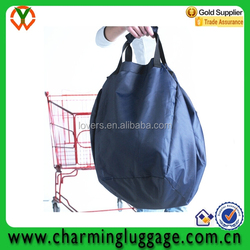 New products eco large polyester shopping bag/shopping cart bag