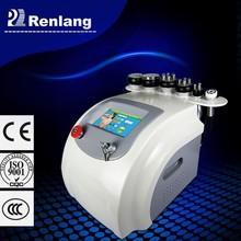 6 in 1 macchina la cura della pelle radio frequency+40khz cavitazione apparecchiatura di bellezza prezzo
