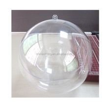Christmas Decoration Supplies Type Clear Plastic Ball Container for Malaysia