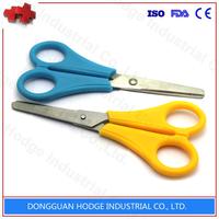 Plastic Handle China Stationery student Scissors cutting scissor