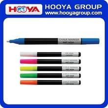 2015 Hot Selling Eco-friendly Fine Erasable Chalk Marker Wet Wipe Liquid Chalk Marker Pen