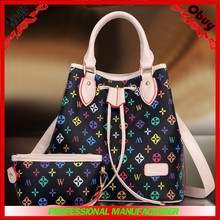 2015 classic fashion patchwork of colors handbags china