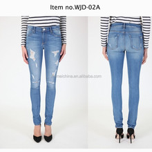 ripped jeans for women ,high quality jeans ,jeans factory