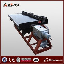 Mineral Concentrator Shaking Table for Gold, Zircon, Chrome, Tin Ore Separation
