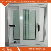 2016 Newest Style Office Thermal Break Aluminum Sliding Glass Window