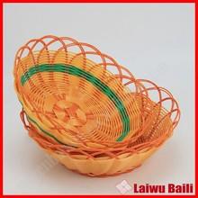 Home storage organization plastic eco-friendly food basket