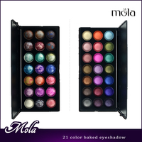 2015 professional baked eyeshadow palette Mineral warm color eyeshadow kit palette eyeshadow