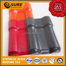 3.0mm long life span synthetic resin bright gray villa roof covering plastic