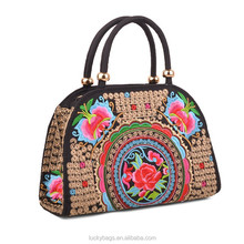 Kunming ladies embroidery bags promotional ethnic women bags