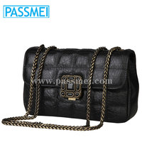 Lady Purse Genuine Leather Factory Wholesale Shoulder Bag for Women