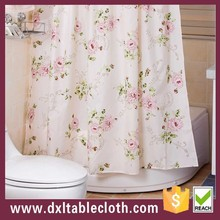 Bathroom shower curtain natural and grace style