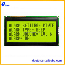 CHARACTER 4 X 20 STANDARD YELLOW/GREEN TRANSFLECTIVE LCD DISPLAY MODULE