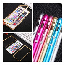 New Design Aluminum Metal Bumper Combo Hard Case For iphone 5 5S