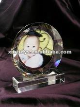 crystal photo frame as baby birthday gift