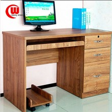 Simple modern fashion cheap hot sale computer table with drawers