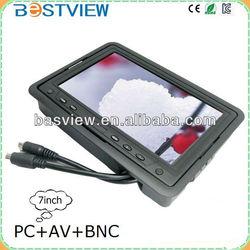7 Inch Mini LED Monitor VGA/AV/BNC $